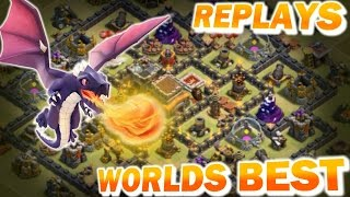 getlinkyoutube.com-Worlds Best TH8 Base - Anti Everything - Drags, Ground and Air - TH11 Update