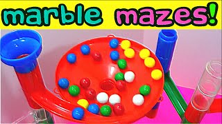 getlinkyoutube.com-Best Learning Compilation Video: Marble Maze Runs Teach Colors & Counting for Kids! Fun Educational!