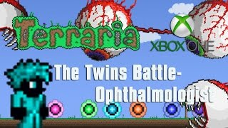 getlinkyoutube.com-Terraria Xbox One Let's Play - The Twins! Opthalmologist  [23]