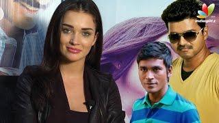 Amy Jackson Interview On Vijay's Theri and Dhanush's Thanga Magan   Vijay 59, VIP 2