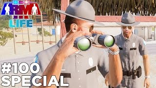 getlinkyoutube.com-Arma 3 Life Police #100 - Hour Long Special!
