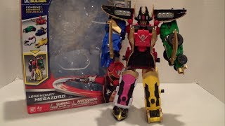 getlinkyoutube.com-Legendary Megazord Review [Power Rangers Super Megaforce]