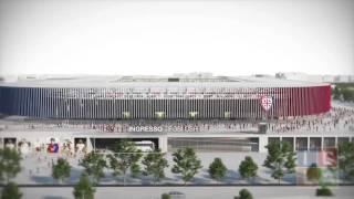 Il nuovo stadio Sant'Elia presentato ai tifosi
