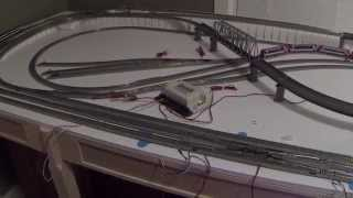getlinkyoutube.com-Kato Unitrack DCC Wiring for Small Layout N Scale Part II