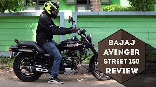 getlinkyoutube.com-Bajaj Avenger 150 Street | REVIEW | MVR