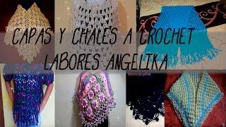 getlinkyoutube.com-CAPAS Y CHALES A CROCHET LABORES ANGELIKA.
