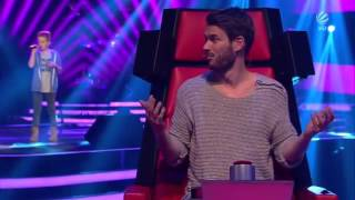 getlinkyoutube.com-Luca - I'm Not The Only One - BLIND AUDITONS 1 (The Voice Kids Germany 2015 - 27-3-2015)