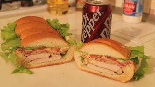 getlinkyoutube.com-Сэндвич под прессом. Рецепт мега-бутерброда.