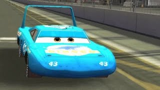 getlinkyoutube.com-Disney Pixar Cars The Game Strip Weathers Gameplay HD