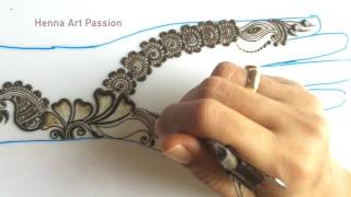 getlinkyoutube.com-simple mehendi chapter 23: simple and easy arabic mehendi for beginners