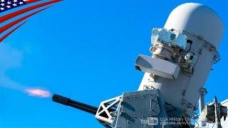 getlinkyoutube.com-ファランクス 20mm機関砲 & ブローニングM2 12.7mm機関銃の実弾射撃