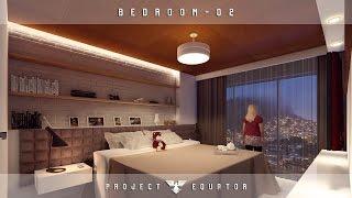 Lumion 6 Rendering Tutorials #27 -  Bedroom 2 (Special 2K SUBSCRIBE)