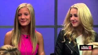 getlinkyoutube.com-Chloe & Christi Lukasiak and Paige & Kelly Hyland on KSDK News!