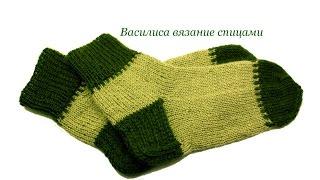 getlinkyoutube.com-Носки спицами с двойной пяткой