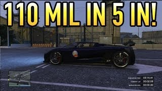 getlinkyoutube.com-GTA 5 - $110 MILLION IN 5 MINUTES!!! - UNLIMITED MONEY! - NO GLITCHING! - GTA V Online Race!