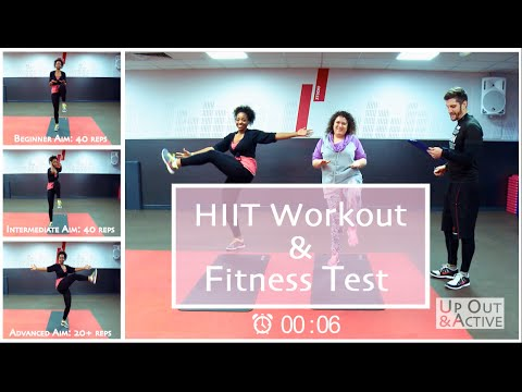 HIIT Workout & Fitness Test
