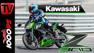 getlinkyoutube.com-2015 | Kawasaki Z300 Test Rennstrecke
