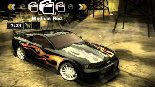 getlinkyoutube.com-Need for Speed Most Wanted: Razor's Mustang GT tuning (mod)