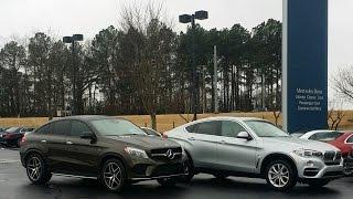 getlinkyoutube.com-Comparing the Mercedes-Benz GLE450 and BMW X6
