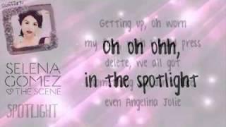 getlinkyoutube.com-Selena Gomez & The Scene  - Rock God, Spotlight & Intuition + Lyrics