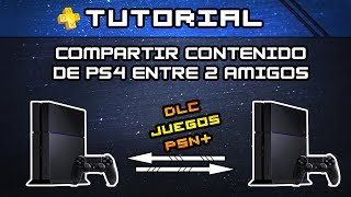 getlinkyoutube.com-TUTORIAL PS4 - Compartir Juegos, DLC y PSN+ entre dos PS4