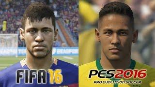 getlinkyoutube.com-FIFA 16 vs PES 2016 FACE COMPARISON