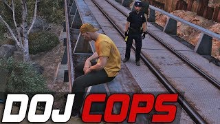 Dept. of Justice Cops #437 - Cart Choas