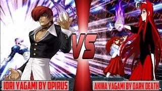 getlinkyoutube.com-[Mugen - KOF] Iori Yagami (Opirus) vs. Akiha Yagami (Dark Death)
