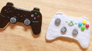 getlinkyoutube.com-VIDEO GAME CONTROLLER COOKIES - NERDY NUMMIES