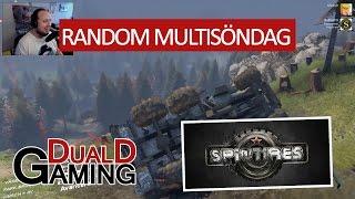 getlinkyoutube.com-Random MultiSöndag - Spintires - Ufot rullar ner i backen