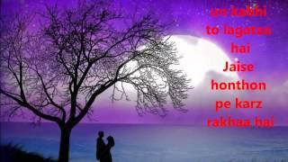 getlinkyoutube.com-Tujhse naraz nahi zindagi by Amanat Ali lyrics