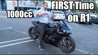 First time riding a YAMAHA R1! | Super-Set exercises for CHEST
