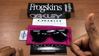 Oakley Frogskins - Kacamata High Definition Optic
