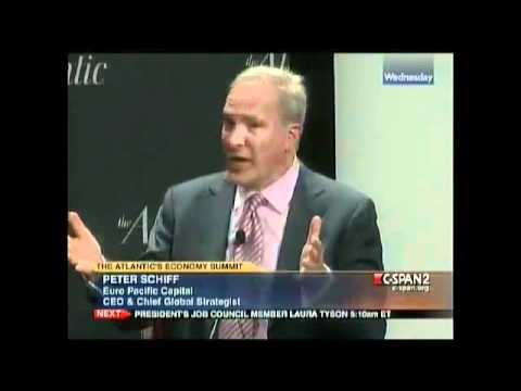 Peter Schiff Owning Everyone's Ass on C-span