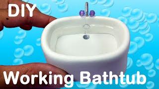 getlinkyoutube.com-DIY Working Doll Bathtub for LPS, MLP, or small dolls