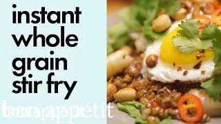 Bin It to Win It: Instant Whole Grain Stir Fry