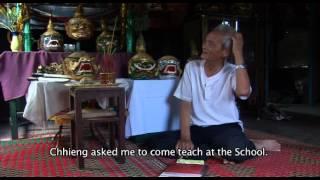 ព្រឹទ្ធាចារ្យ យិត សារិន Interview with Yit Sarin  Khmer dance project, 2009