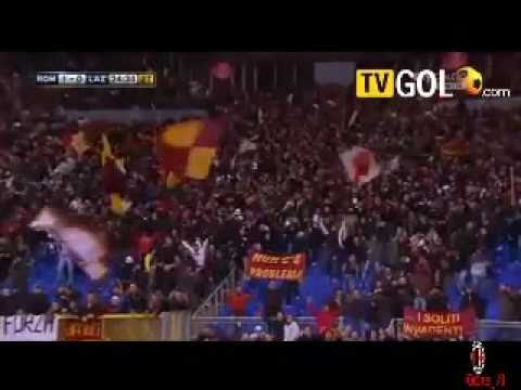 Roma Lazio 2-0 Sky Sport Ampia sintesi highlights 13 03 2011
