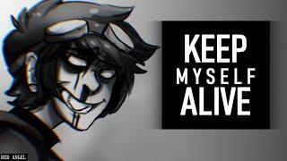 getlinkyoutube.com-Ticci Toby - Keep Myself Alive [with lyrics]