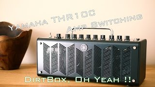 getlinkyoutube.com-Yamaha THR10C, Amp Switching (Clean/Crunch), with MJT Telecaster