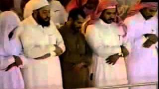 getlinkyoutube.com-.. الشيخ ابن عثيمين يصلي خلف الشيخ الشريم ( نادر )