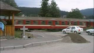 getlinkyoutube.com-Tren la bariera Busteni