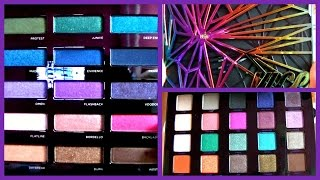 getlinkyoutube.com-REVIEW & COMPARISON of the Urban Decay Vice 4 and Spectrum Eyeshadow HOLIDAY PALETTES 2015!!!