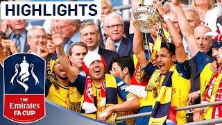 getlinkyoutube.com-Arsenal 4-0 Aston Villa  - 2015 FA Cup Final | Goals & Highlights