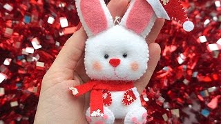 getlinkyoutube.com-How To Make The New Year's Felt Rabbit - DIY Crafts Tutorial - Guidecentral
