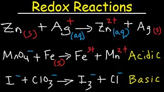 How To Balance Redox Reactions - General Chemistry Practice Test / Exam Review