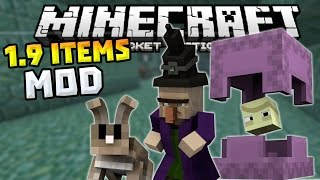 PC ITEMS MOD in 0.12.1!!! - Rabbits, Shulkers & MORE! - Minecraft PE (Pocket Edition)