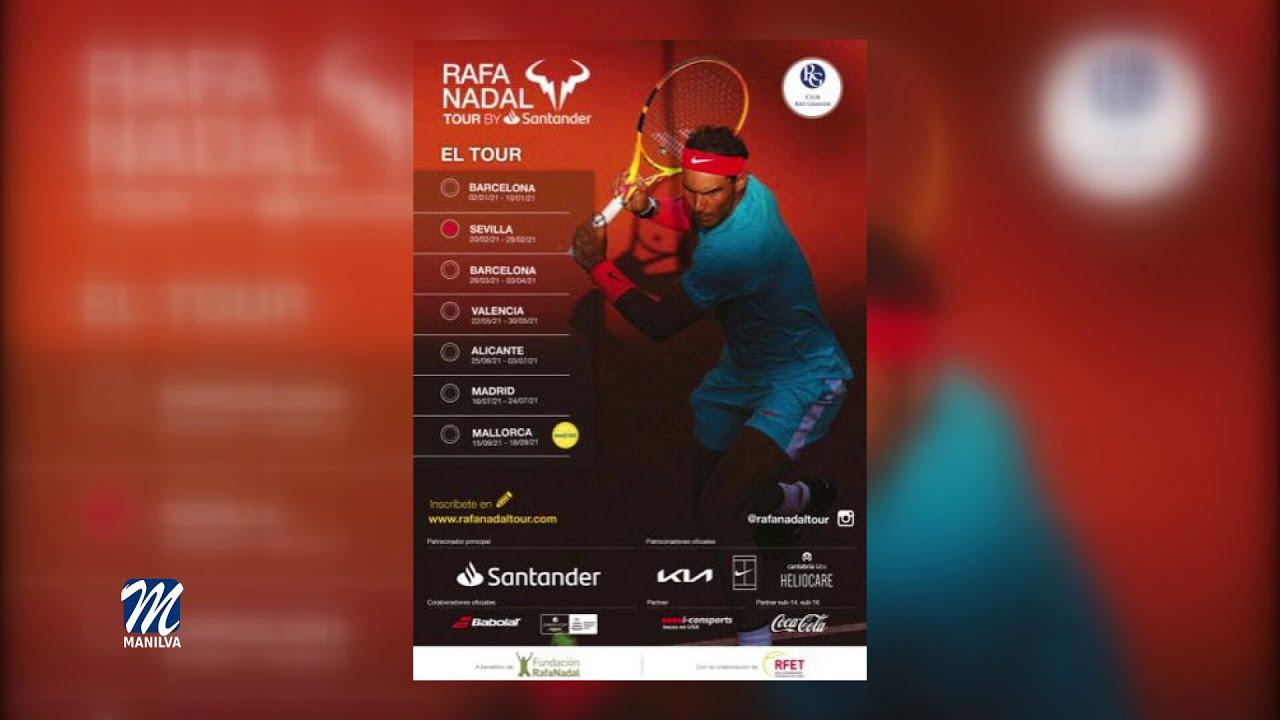 Buen papel de Cayetano Blanco en el Rafa Nadal Tour