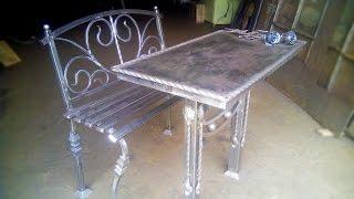 getlinkyoutube.com-Ритуальный столик со скамейкой