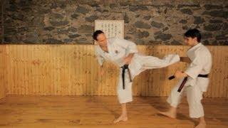 How to Do Side Kicks | Karate Lessons